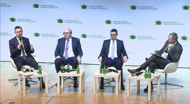 Europejskie Forum Rolnicze: debata z udziałem premiera Mateusza Morawieckiego i komisarza Phila Hogana