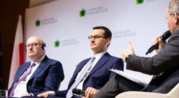 Morawiecki: WPR UE musi być kontynuowana i rozwijana
