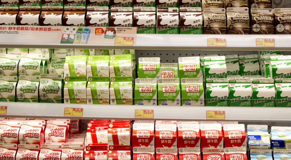 Walka o znaki towarowe polskich mleczarni w Chinach