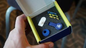 Elementy zakładane na smartfon do określania późniejszych dawek nawożenia N-Tester Clip, fot.kh