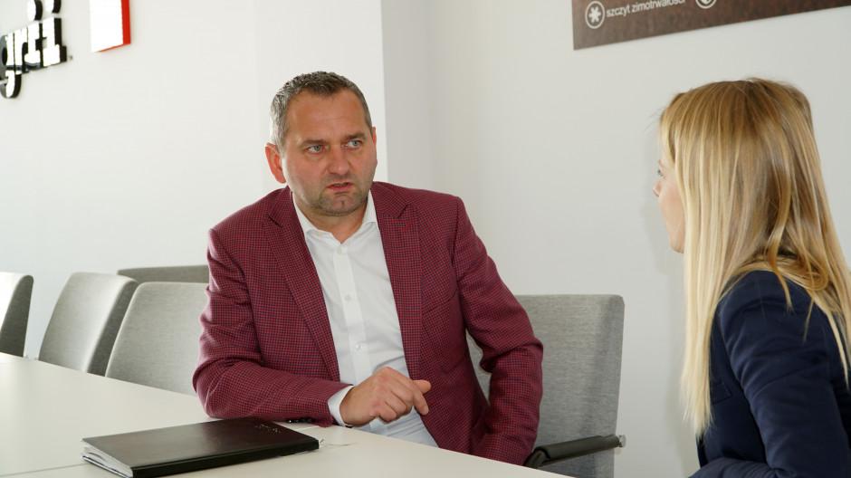 O nowym systemie rolnictwa precyzyjnego, które zamierza wkrótce udostępnić firma Agrii, opowiedział dyrektor zarządzający firmy - Leszek Skrzypczyk, fot. W. Denisiuk