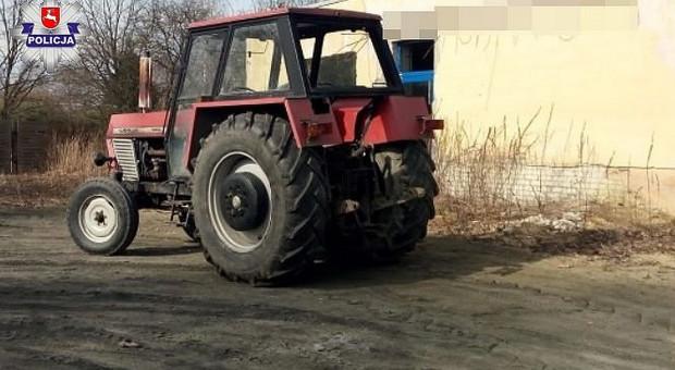 Traktorem z promilami, ale bez uprawnień