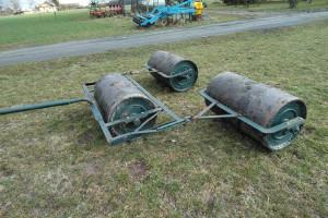 Doprowadzony do użyteczności blisko 100-letni wał łąkowy nieistniejącej od wielu lat firmy Schütz & Bethke z dzisiejszych Lipian