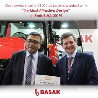 Za dobrą monetę na przyszłość firma Başak może przyjąć nagrodę na najbardziej atrakcyjny design targów SIMA 2019, fot. materiały prasowe