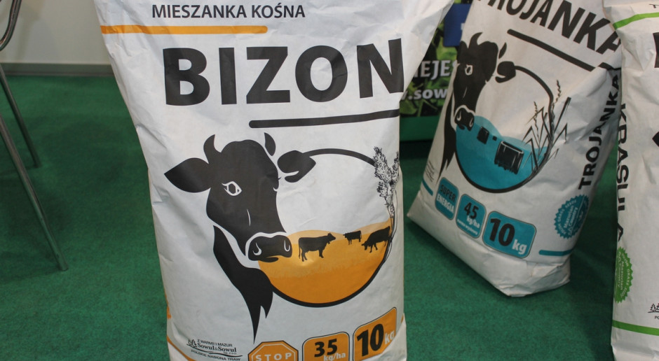 """Mieszanka """"Bizon""""  – na trudne warunki"""