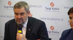 Minister rolnictwa na targach Agrotech