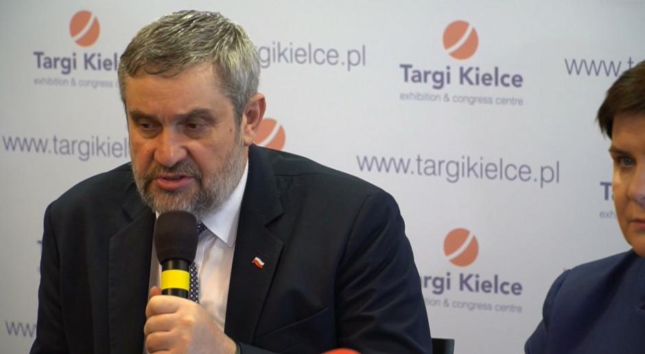 Ardanowski: Ważne, by racjonalnie korzystać z drogiej techniki w rolnictwie