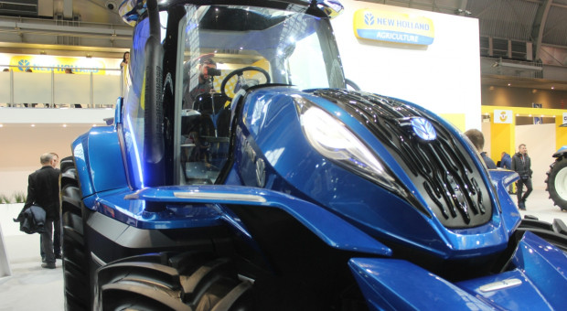 New Holland Methane Power - polski debiut na targach Agrotech 2019