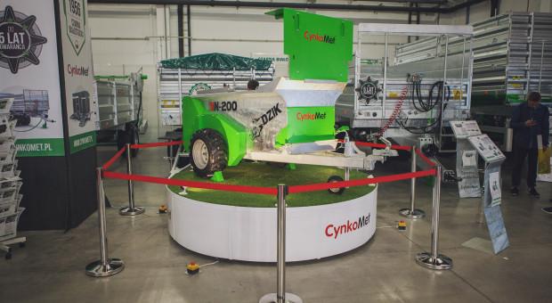 Innowacyjne maszyny Cynkometu na Agrotech 2019