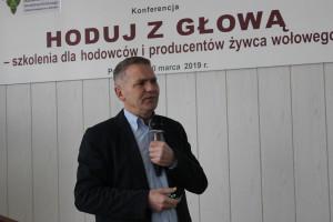 Prof. Zenon Nogalski z Uniwersytetu Warminsko-Mazurskiego w Olsztynie