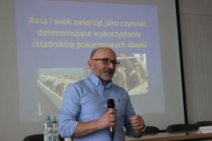 Dr Andrzej Łozicki ze Szkoły Głównej Gospodarstwa Wiejskiego w Warszawie