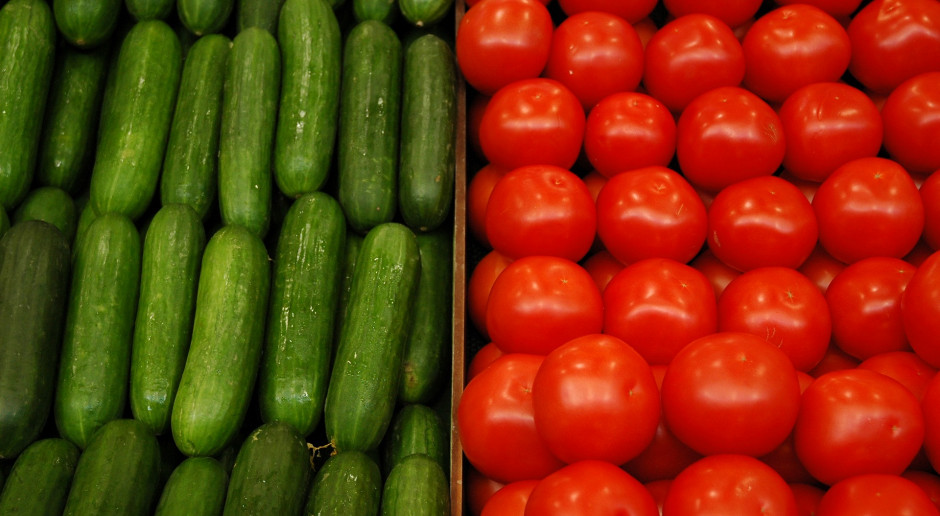 W Broniszach tanieją ogórki i pomidory spod osłon