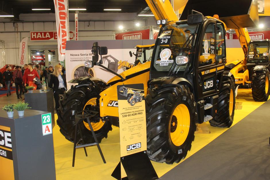 Podczas targów Agrotech prezentowany był model 538-60 Agri Pro, fot. KW, mat. prasowe