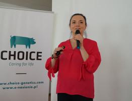 Olga Kamińska, doradca ds. produkcji Choice Genetics fot. I. Dyba