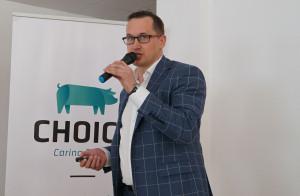 Mariusz Szpanel, doradca genetyczny Choice Genetics, fot. I. Dyba