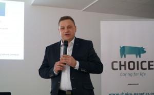 Daniel Urbaniak, doradca genetyczny i żywieniowy Choice Genetics fot. I. Dyba