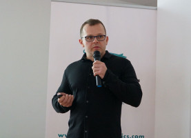 Paweł Wróbel lek. wet. specjalista chorób świń, niezależny konsultant weterynaryjny fot. I. Dyba