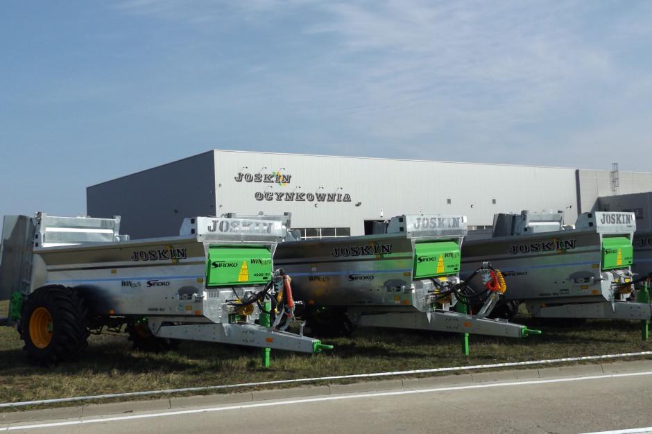 Zakład Joskin w Trzciance funkcjonuje od 20 lat a ocynkownia działa już 9 lat; fot. KW