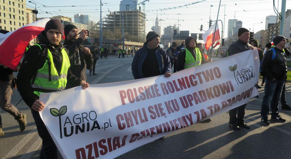 Wotum nieufności wobec Ardanowskiego – wieczorem. W ciągu dnia – demonstracja rolników