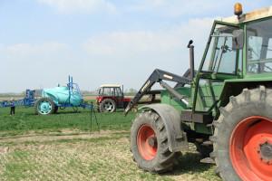 Część parku maszynowego w gospodarstwie Boczarów, fot. ArT