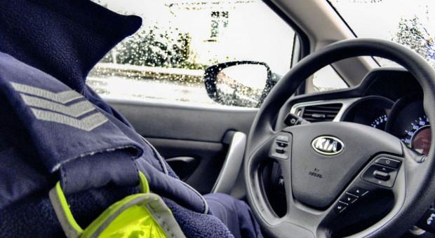 Nietrzeźwa kobieta za kierownicą ciągnika