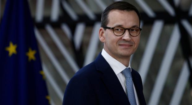 Morawiecki jedzie do Brukseli rozmawiać o pieniądzach dla rolników