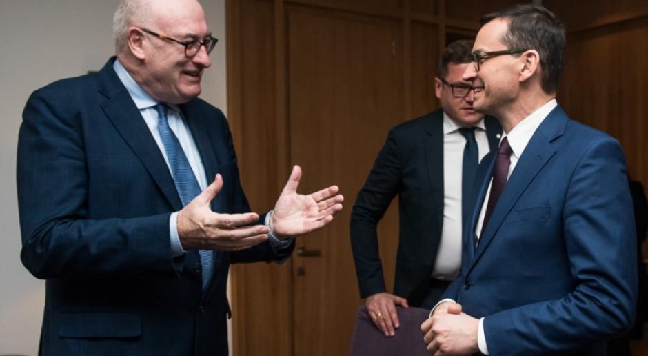 Morawiecki przekonuje, że następny budżet UE będzie dobry dla Polski
