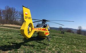 Wezwano śmigłowiec LPR, ale rolnik zmarł na miejscu wypadku