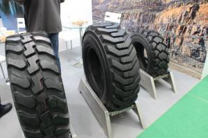 Firma ATG zaprezentowała również opony do zastosowań przemysłowych pod marką Galaxy, fot. ArT