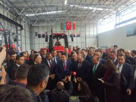 W kwietniu powstającą montownię odwiedziła delegacja białoruska, w której byli także przedstawiciele rządu, fot. mat prasowe