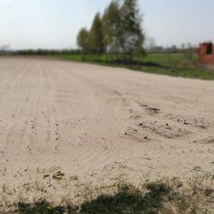 Przy tak silnym wietrze, drobiny piasku, iłu z łatwością mogą zostać przemieszczone na znaczne odległości. Fot. A. Kobus