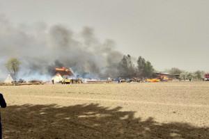 Piaskowe burze, pożary i saharyjskie upały
