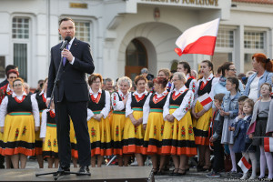 Prezydent w Świdwinie: chciałbym, żeby Polska była w sposób równy rozwinięta