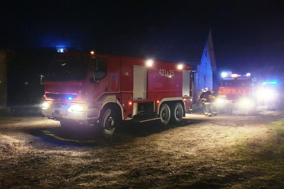 Do akcji gaśniczej zadysponowano w sumie dwadzieścia zastępów straży pożarnej