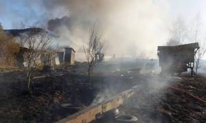 Kilka dni wcześniej spłonęło gospodarstwo we wsi Łojki w tej samej gminie