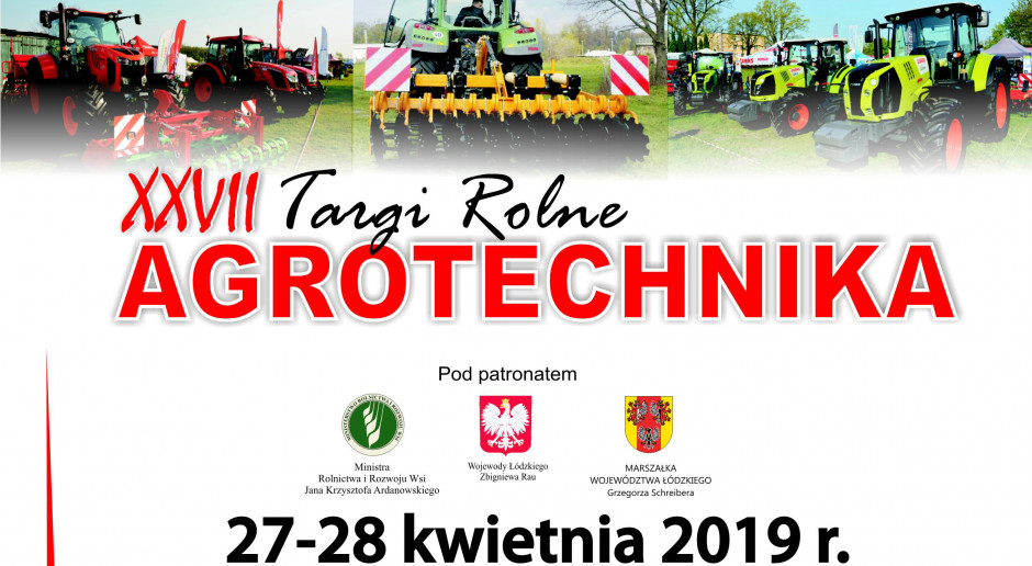 XXVII Targi Rolne AGROTECHNIKA 2019