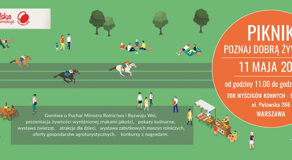 100 wystawców produktów tradycyjnych na pikniku Poznaj Dobrą Żywność