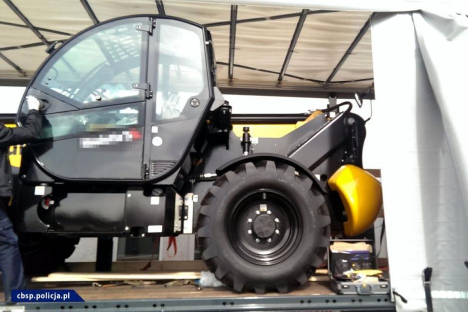 Łupem złodziei padały maszyny budowlane i rolnicze, oraz auta i ciężarówki  Foto: CBOŚP