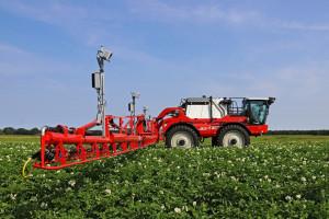 W systemie Agrifac AICPlus mają zastosowanie kamery 3D i specjalistyczne oprogramowanie wykorzystujące sztuczną inteligencję