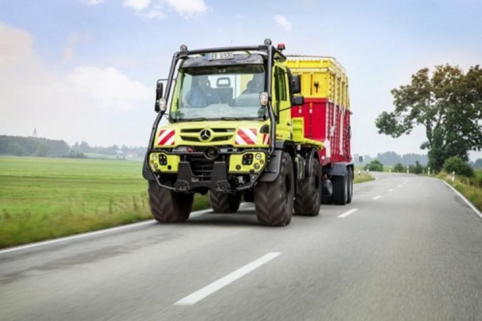 We Francji można zarejestrować Unimoga jako ciągnik rolniczy