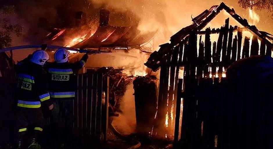Podejrzany o podpalenie stodoły został zatrzymany