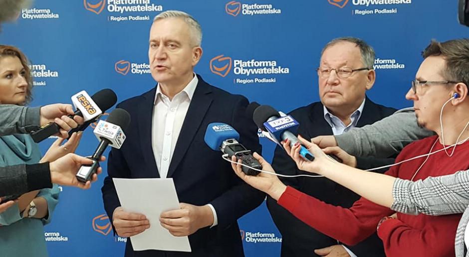 Tyszkiewicz: Polskie rolnictwo jest w kryzysie, odpowiedzią - program Koalicji Europejskiej