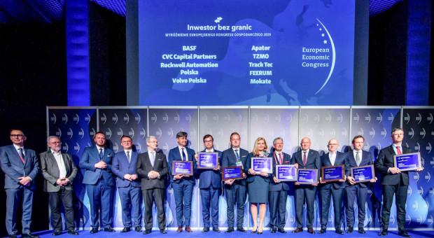 """BASF i Feerum wśród dziewięciu firm wyróżnionych tytułem """"Inwestora bez granic"""""""