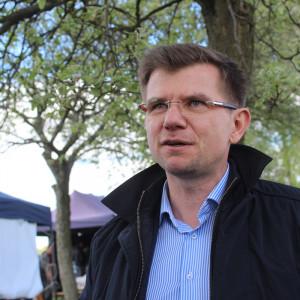 Witold Czeszak, kierownik Programu Konopnego, ustanowionego przez Instytut Włókien Naturalnych i Roślin Zielarskich Fot. A. Kobus