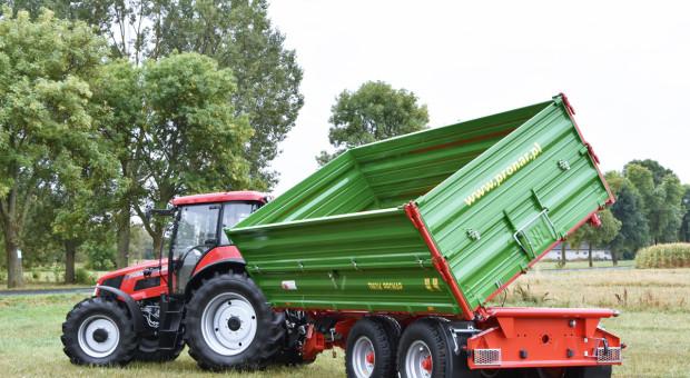 Nieznaczny wzrost na rynku przyczep rolniczych