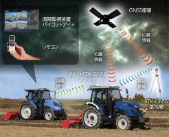 Iseki Robot Tractor, fot. materiały prasowe