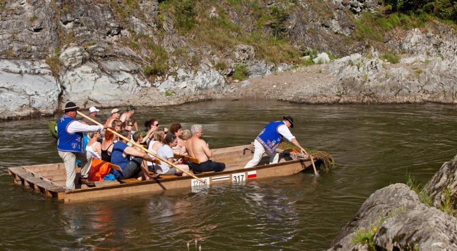 Podczas spływu przełomem Dunajca zginął flisak