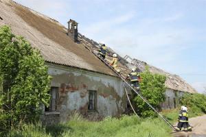Po ugaszeniu ognia konieczne było zabezpieczenie obiektu