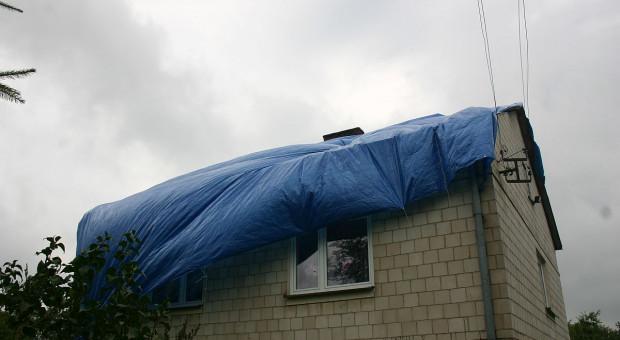 Trąba powietrzna siała spustoszenie na Lubelszczyźnie. W jednej wsi zniszczone wszystkie domy
