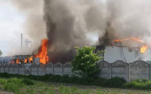 Z żywiołem przez 14 godzin walczyło aż 138 strażaków